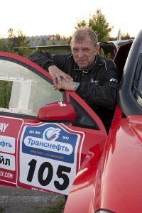 Dr. Thomas Schünemann im SAM bei der Silk Way Rallye 2012