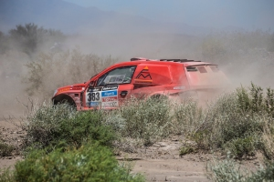 Adios Dakar 2014, Kuznetsov / Elagin withdrawn from the race.