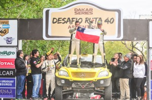 Overall victory in the Diesel category for the Tamarugal Rally Team
